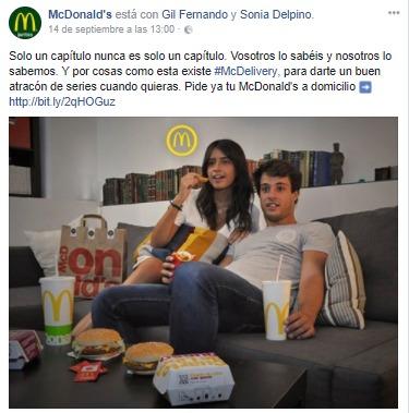 Campaña inmejorable en Facebook