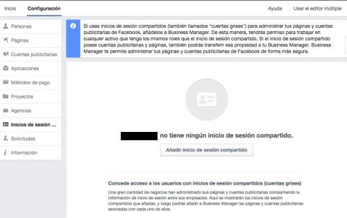 cuenta grises facebook