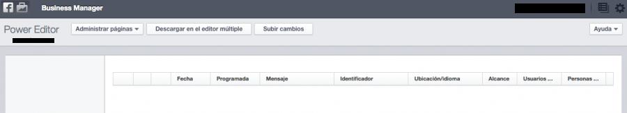power editor o editor multiple de facebook