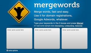 mergewords