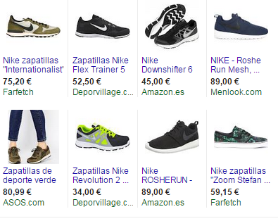 Google Shopping navidad