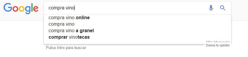 Busqueda keywords seo